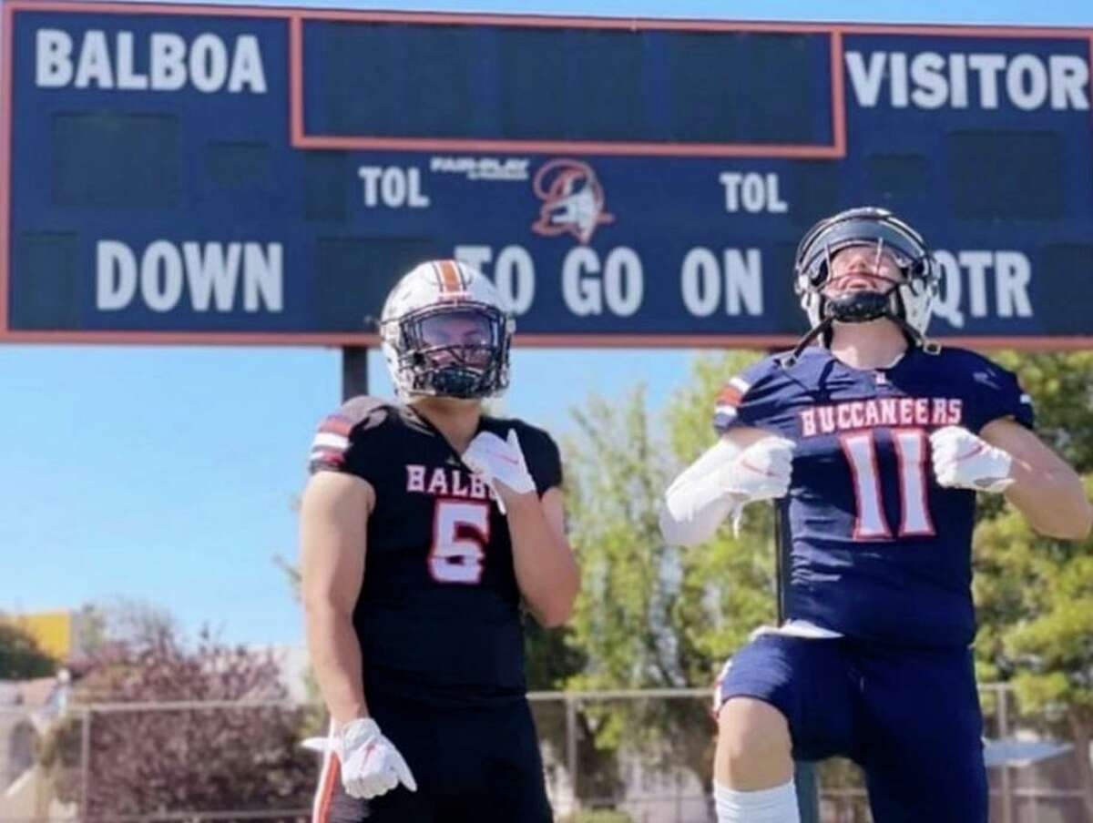 Balboa's Ben Noroi, left, and Antonio Artola haven't played a high school game in nearly two years.