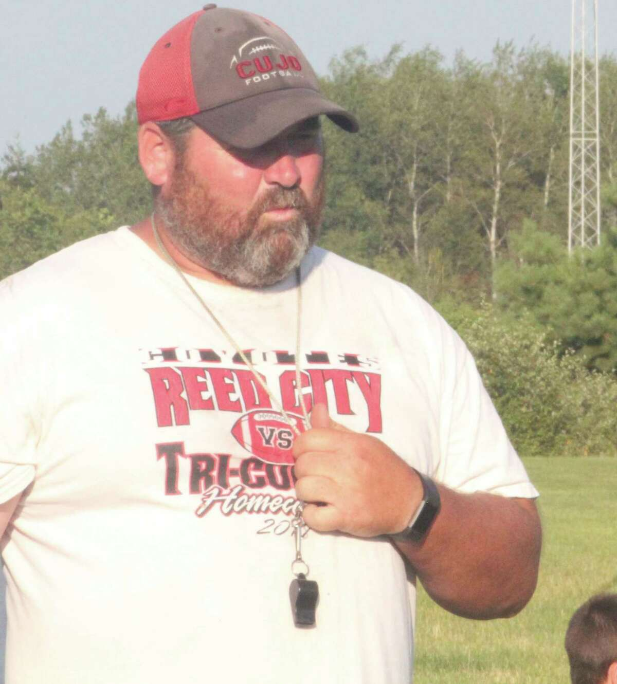 Reed City football coach Scott Shankel is eager to see how the new playoff season works out. (Pioneer file photo)