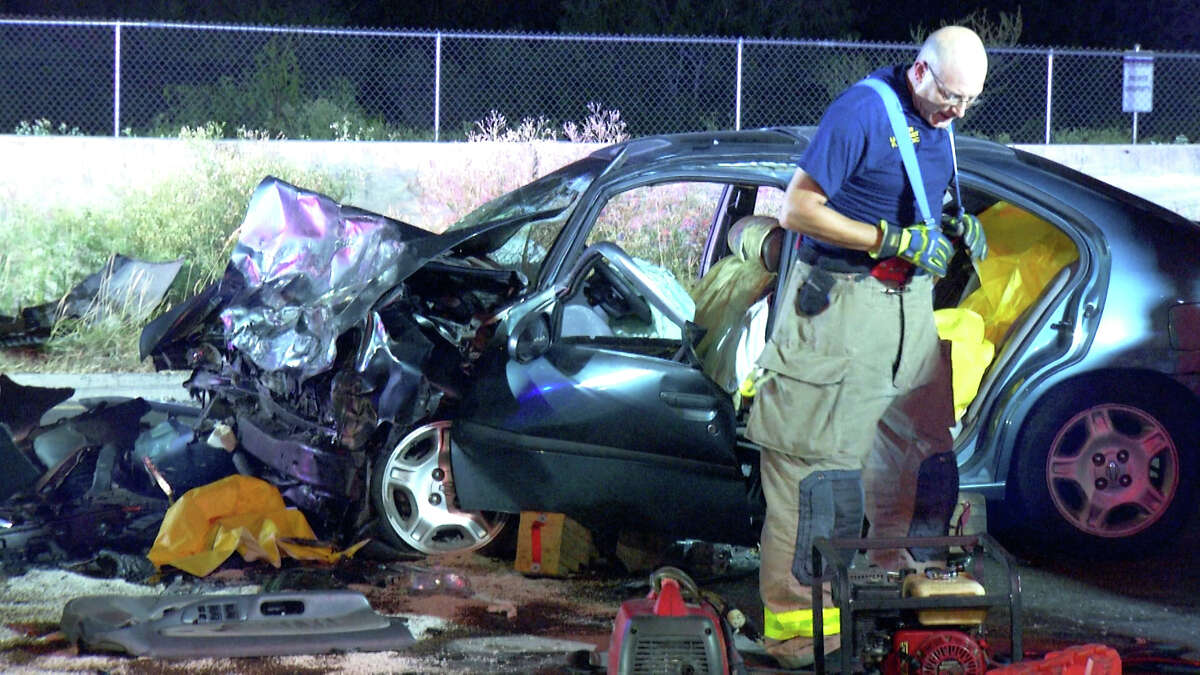 San Antonio police arrested two individuals after a suspected drunken driver crashed into another driver also suspected of driving drunk Thursday morning on the Northeast Side.