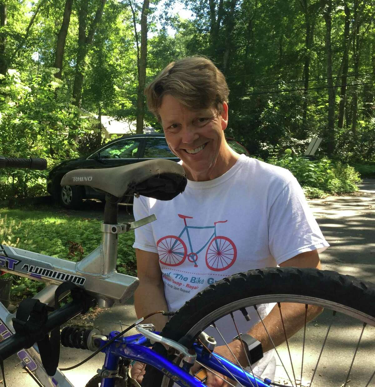 Clinton residents Paul Egan and his wife, Liz, are raising money for cancer research and treatment by participating in the Closer to Free Ride organized by Smilow Cancer Hospital and Yale Cancer Center.