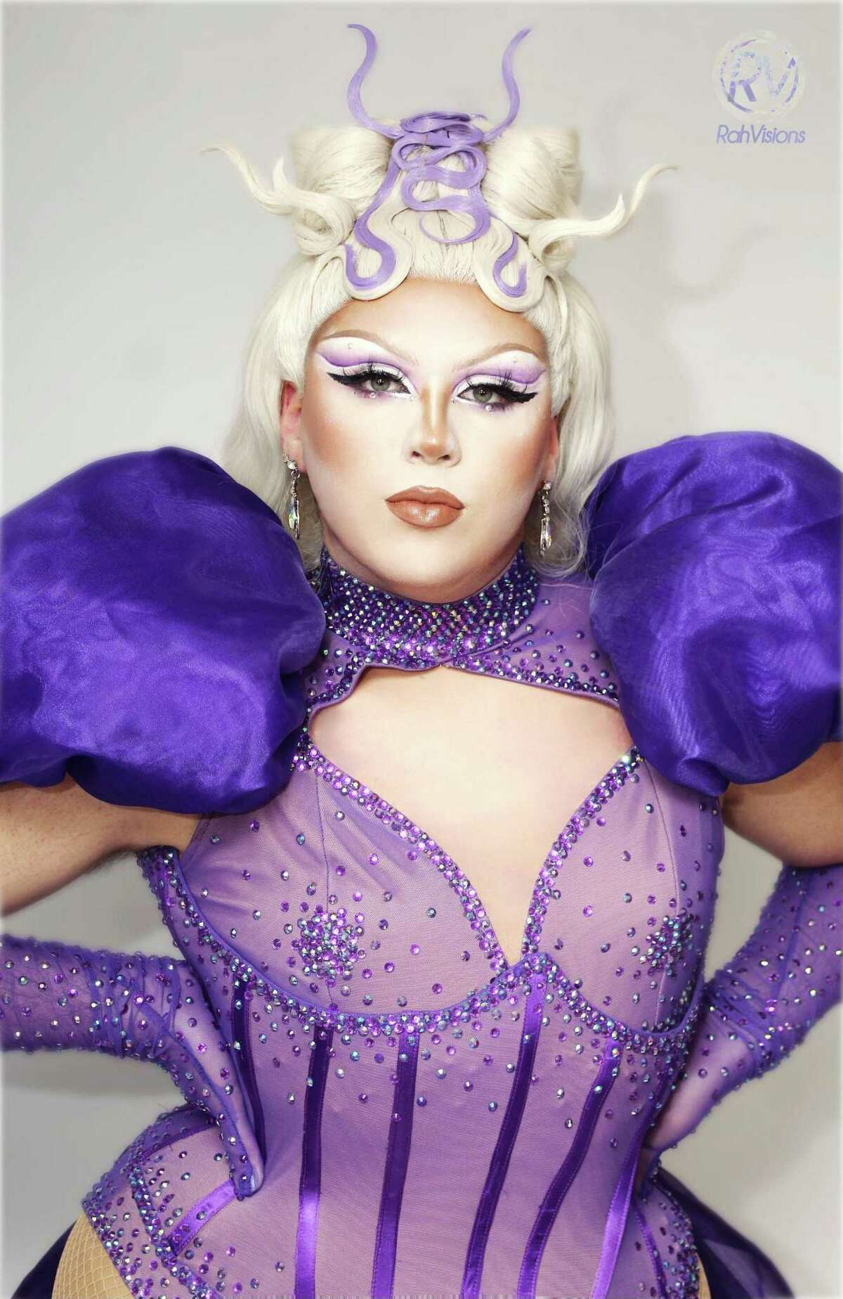 """Astra S'Lay is one of the featured performers at Jerry's Pizza's upcoming """"Legs & Eggs"""" drag queen brunch in Middletown."""
