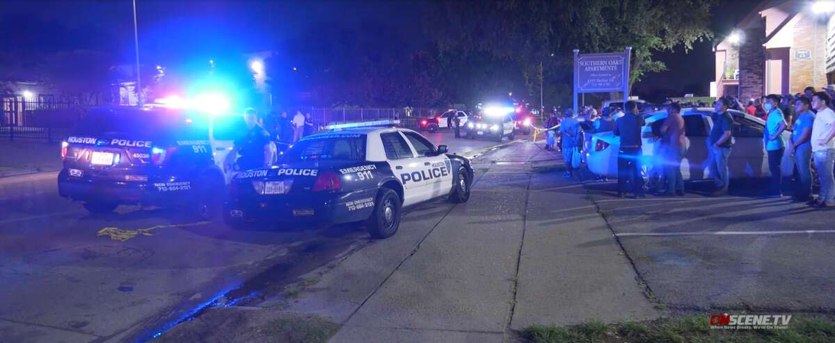 A man died after an incident near the Mid West area of Houston Wednesday night, according to Houston Police.