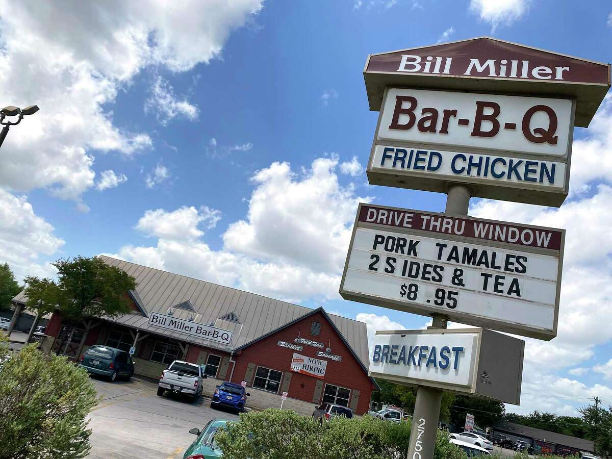 Bill Miller Bar-B-Q on Bill Miller Lane is part of a San Antonio chain of barbecue restaurants. We're pitting Bill Miller against another San Antonio barbecue institution, Rudy's Country Store and Bar-B-Q, to see who comes out the winner.