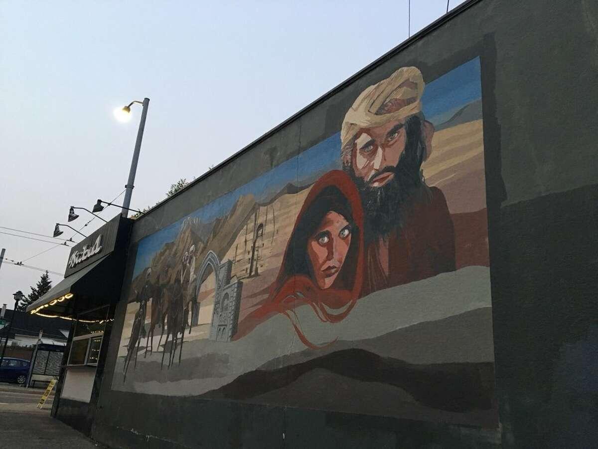 Exterior of Kabul Afghan Cuisine in Wallingford.