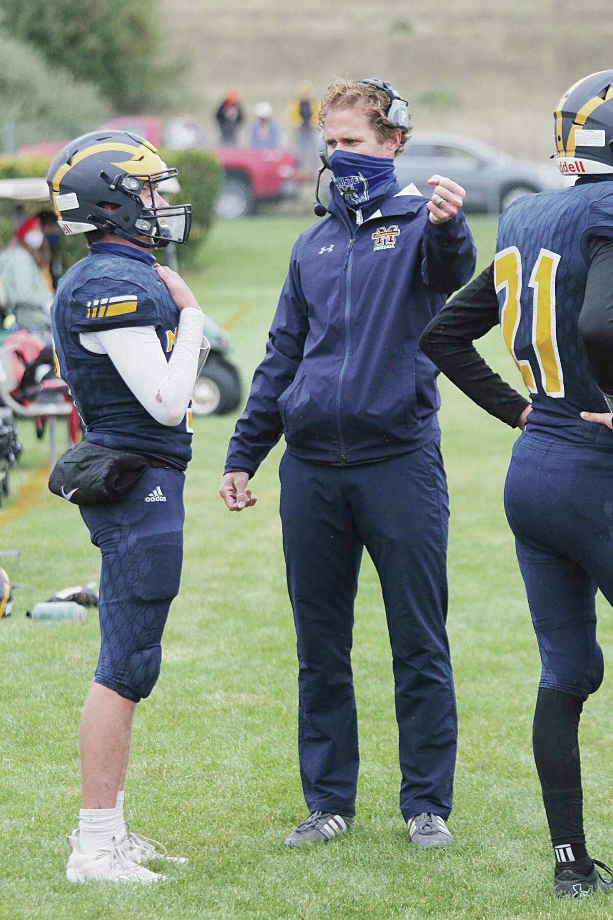 Manistee football coach Troy Bytwork was named regional coach of the year by the Michigan High School Football Coaches Association. (News Advocate file photo)