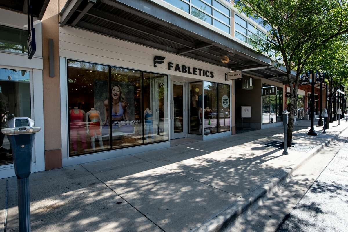 Fabletics opened a store at Market Street - The Woodlands in April 2021.