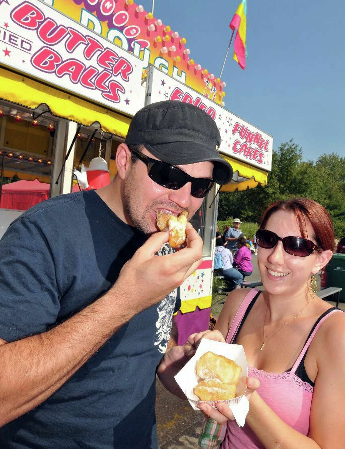 Fried butter from Marion's Fried Dough