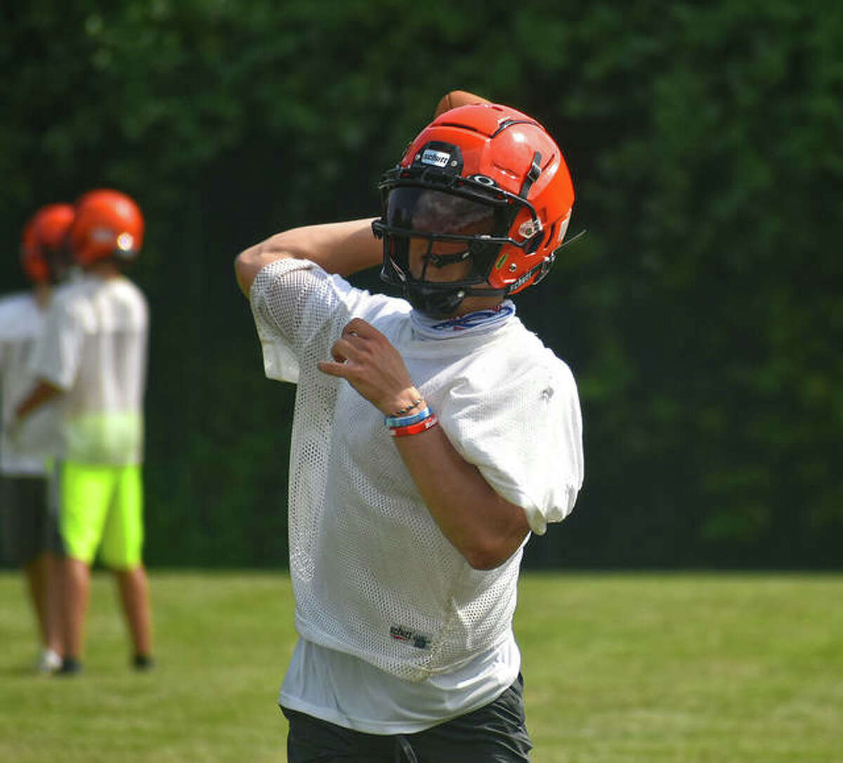 Edwardsville sophomore quarterback Jake Curry will get the start Friday at De Smet. It will be his second career start.