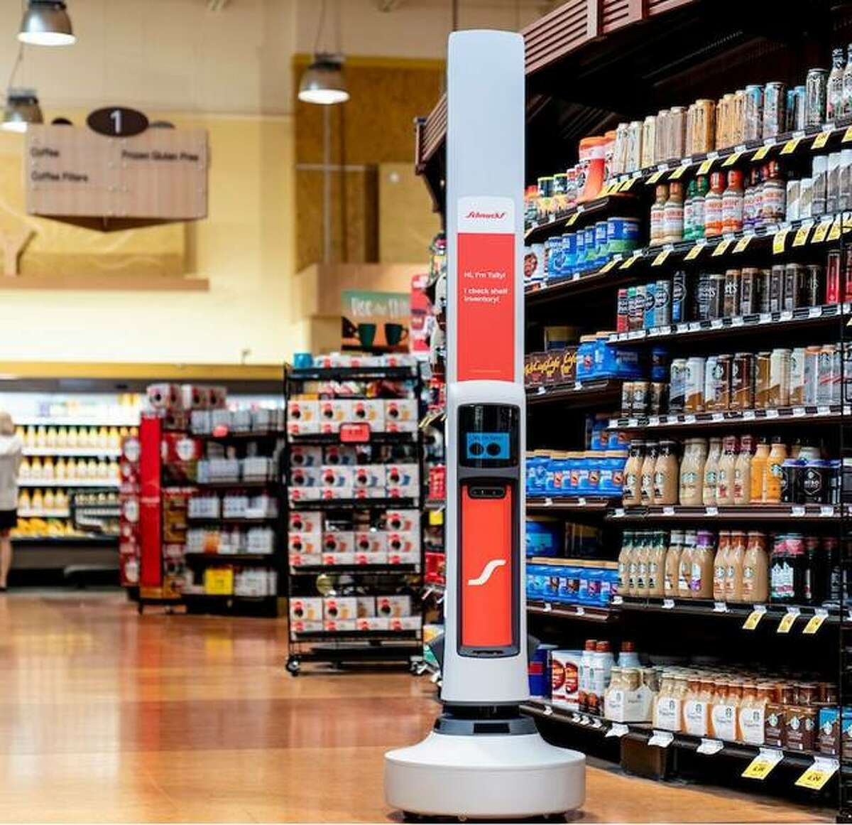 An expanded partnership with Simbe will bring Tally, a retail management robot used to track inventory, to all Schnucks stores.
