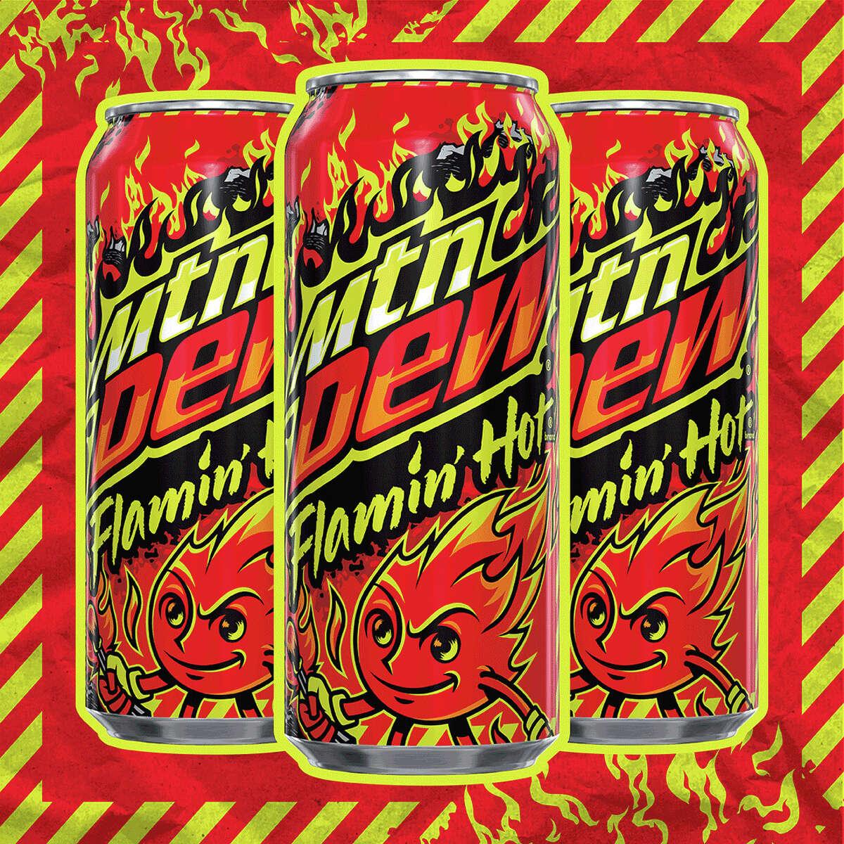 Flamin' Hot Mountain Dew (Credit: PepsiCo)