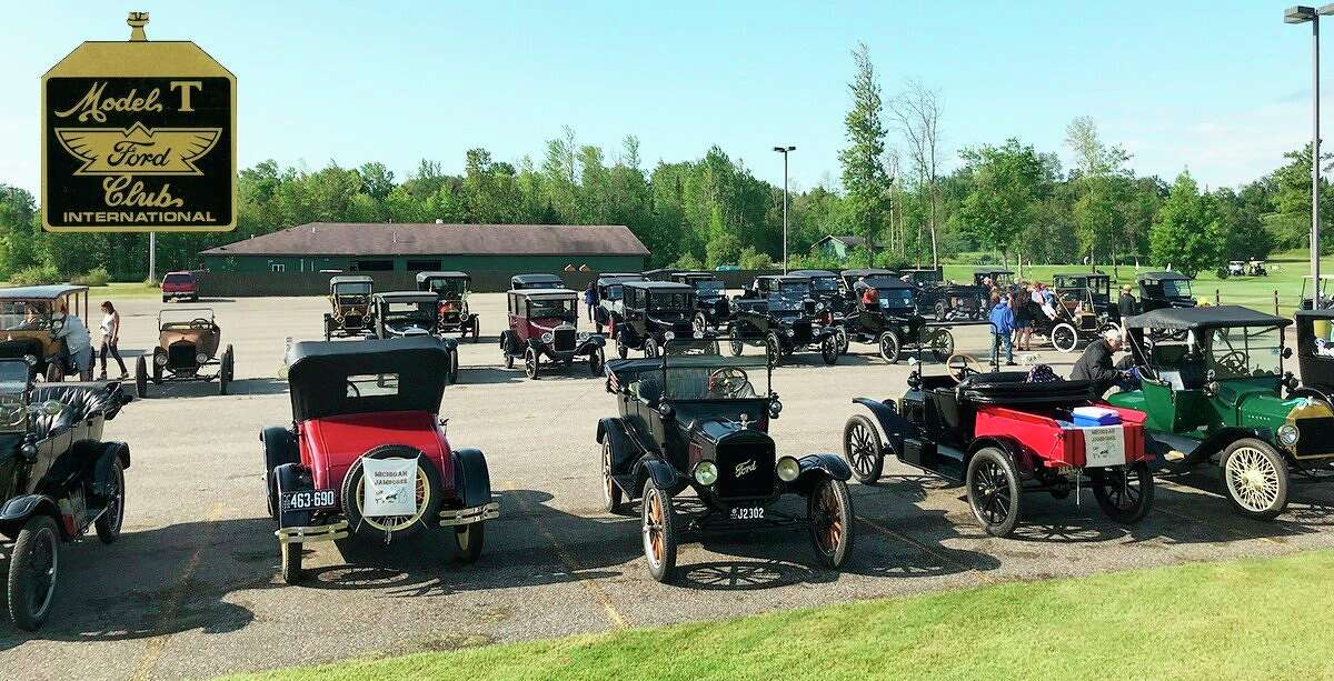 Vintage Model T cars will be touring across the Upper Thumb this weekend, as the Model T Ford Club International chose the area for this year's Michigan regional tour. (Model T Ford Club International/Courtesy Photo)