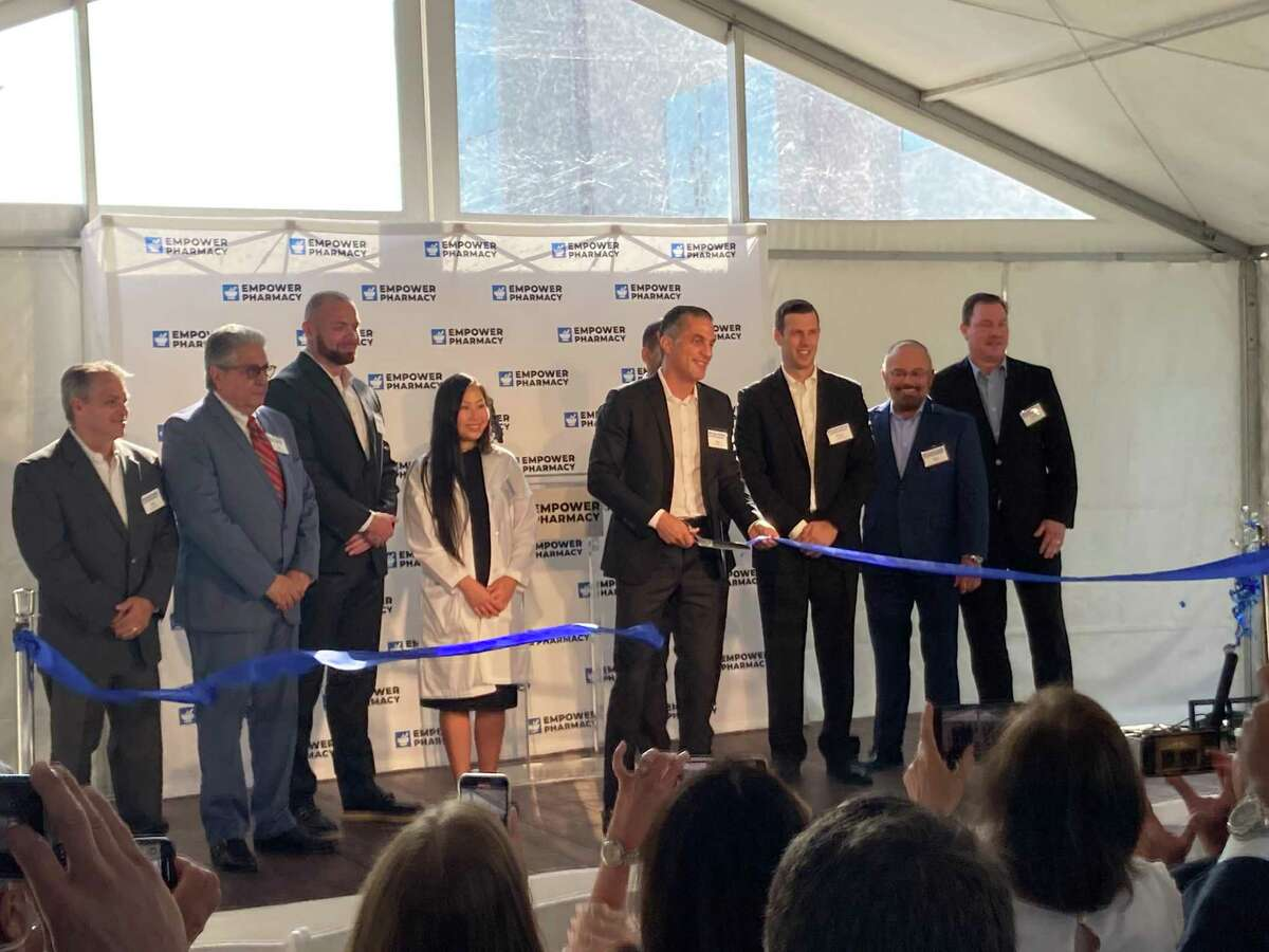 Mayor Sylvester Turner's Chief of Staff Marvalette Hunter presented a proclamation to Empower Pharmacy CEO and founder Shaun Noorian during the grand opening of the newest Empower facility. The ribbon cutting honors one of the largest compounding pharmacies in North America.
