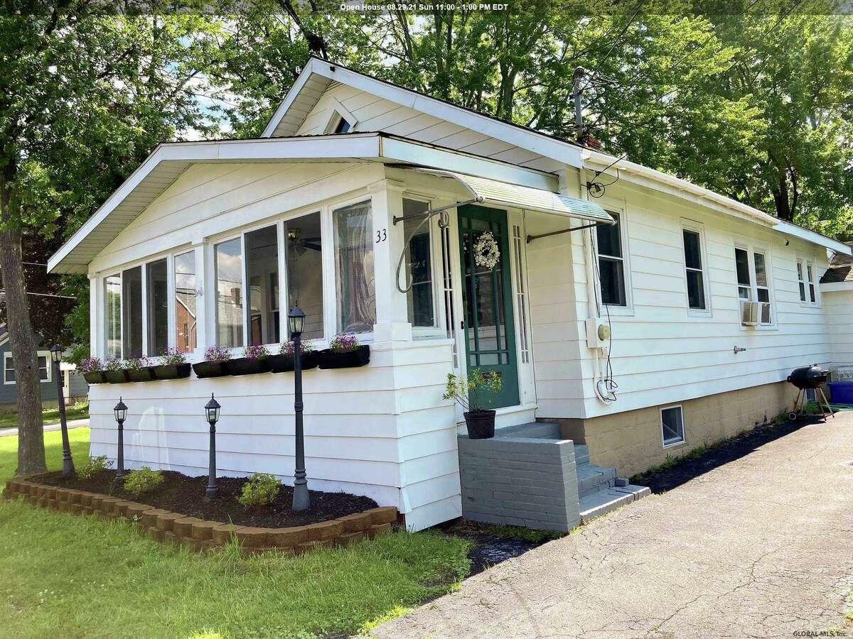 $159,000. 33 Clinton St., East Greenbush, 12144. View listing.
