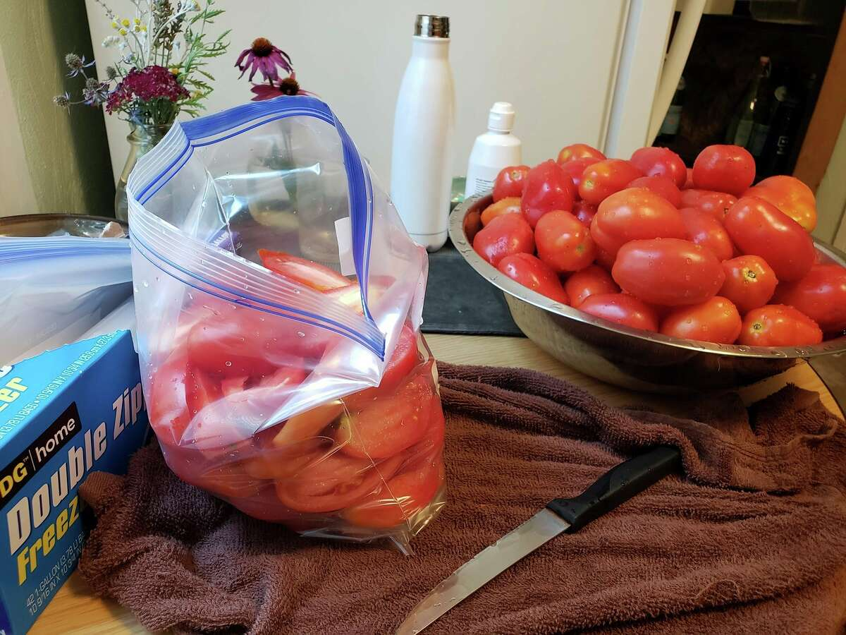 Arielle Breen has been been eating local farm fresh tomatoes since around June 11 this year. Here are some ways to make use of those delicious round red globes. (Arielle Breen/News Advocate)