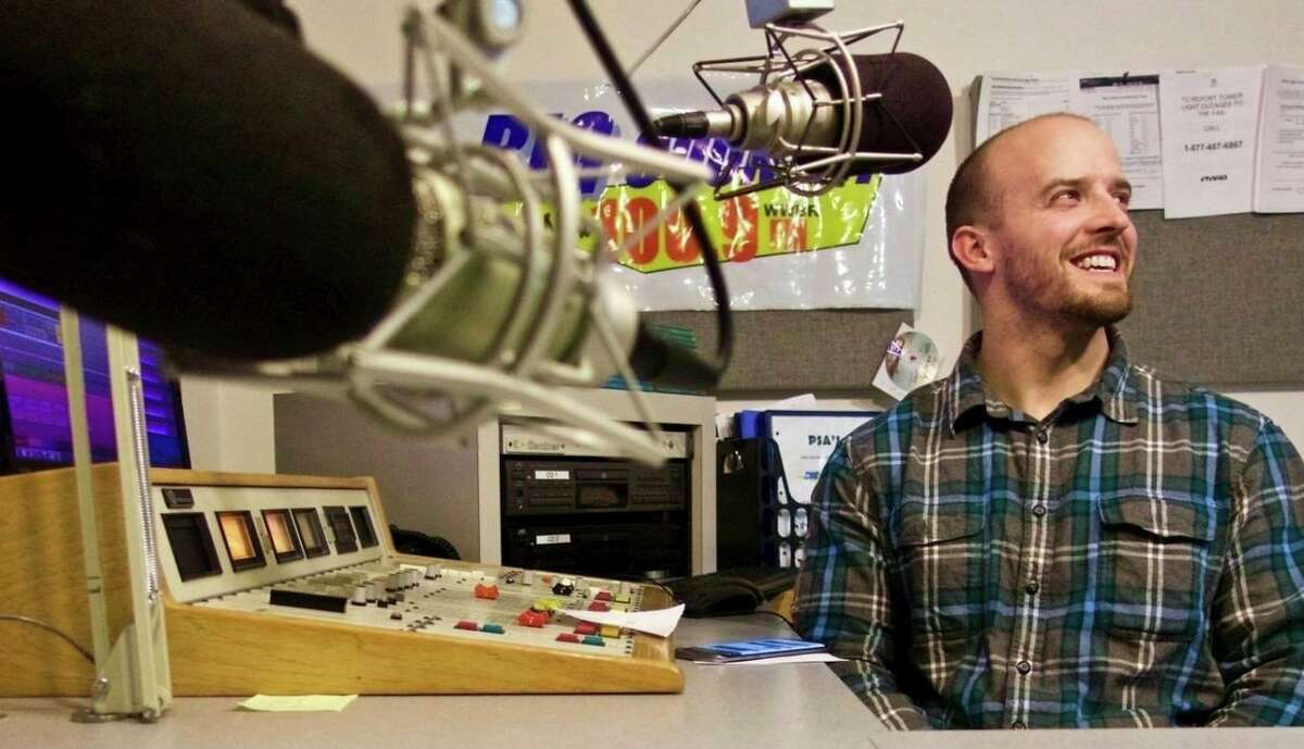 People throughout Mecosta and Osceola counties can easily recognize the voice Jeffrey Scarpelli during his BR football broadasts. (Photo courtesy/Jeffrey Scarpelli)