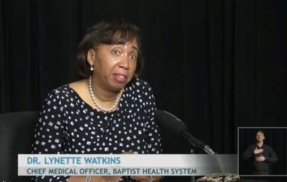 Dr. Lynnette Watkins, chief medical officer at Baptist Health System, said people recently haven't been as consistent about wearing masks, washing their hands and social distancing.