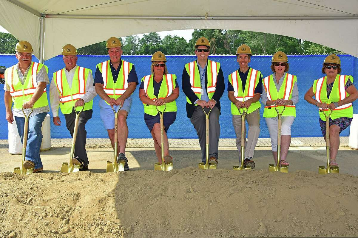 A groundbreaking was recently held to kick off the Consolidated Early Learning Academy project in New Fairfield. O&G Building Group is the construction manager for the project.