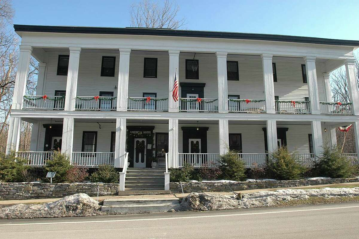 The American Hotel in Sharon Springs.