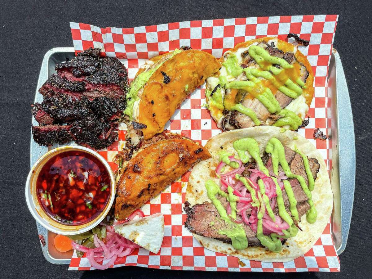 """JQ's Tex Mex BBQ uses """"underground"""" online ordering for smoked beef cheeks, birria tacos with consomé, pork belly and brisket tacos."""