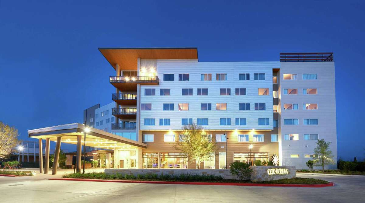 The Stella Hotel in Bryan was named the No. 3 hotel in Texas in a Conde Nast readers' poll in 2020.