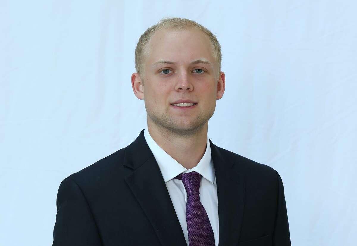 New Canaan's Sean Knight of the Carnegie Mellon football team.
