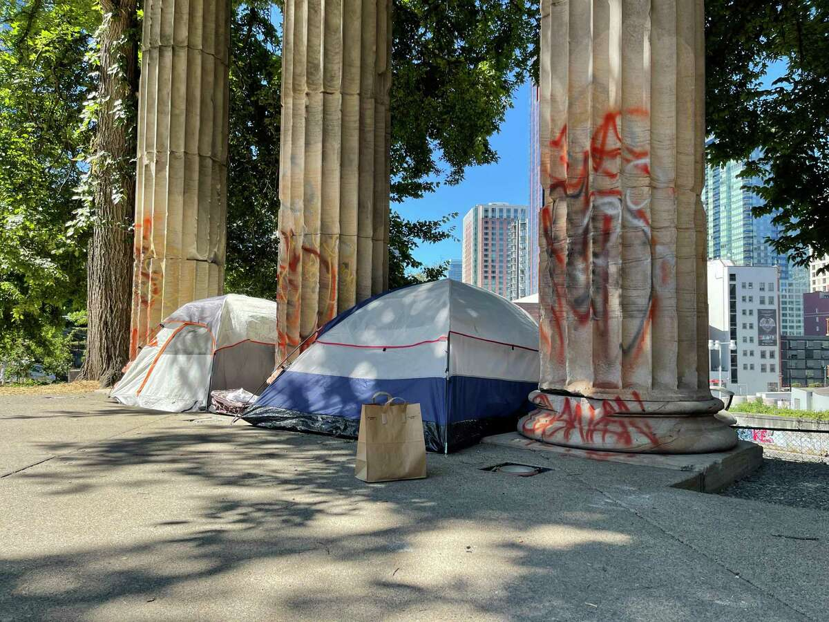 In Seattle, a city with profound wealth but a lack of police presence, downtown is plagued by homelessness and crime. It's stained with shuttered businesses and graffiti.