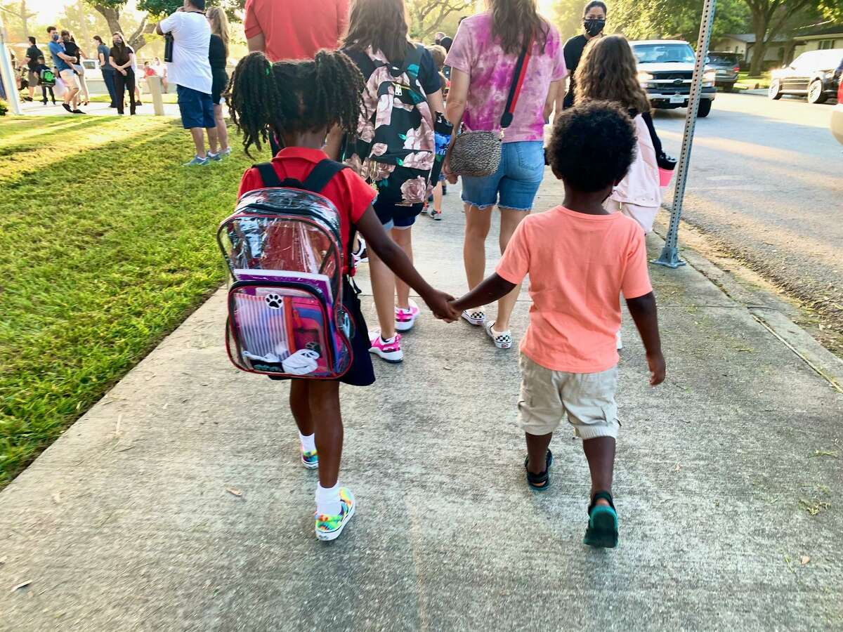 Many parents are experiencing stress and anxiety as they send their children back to in-person school.