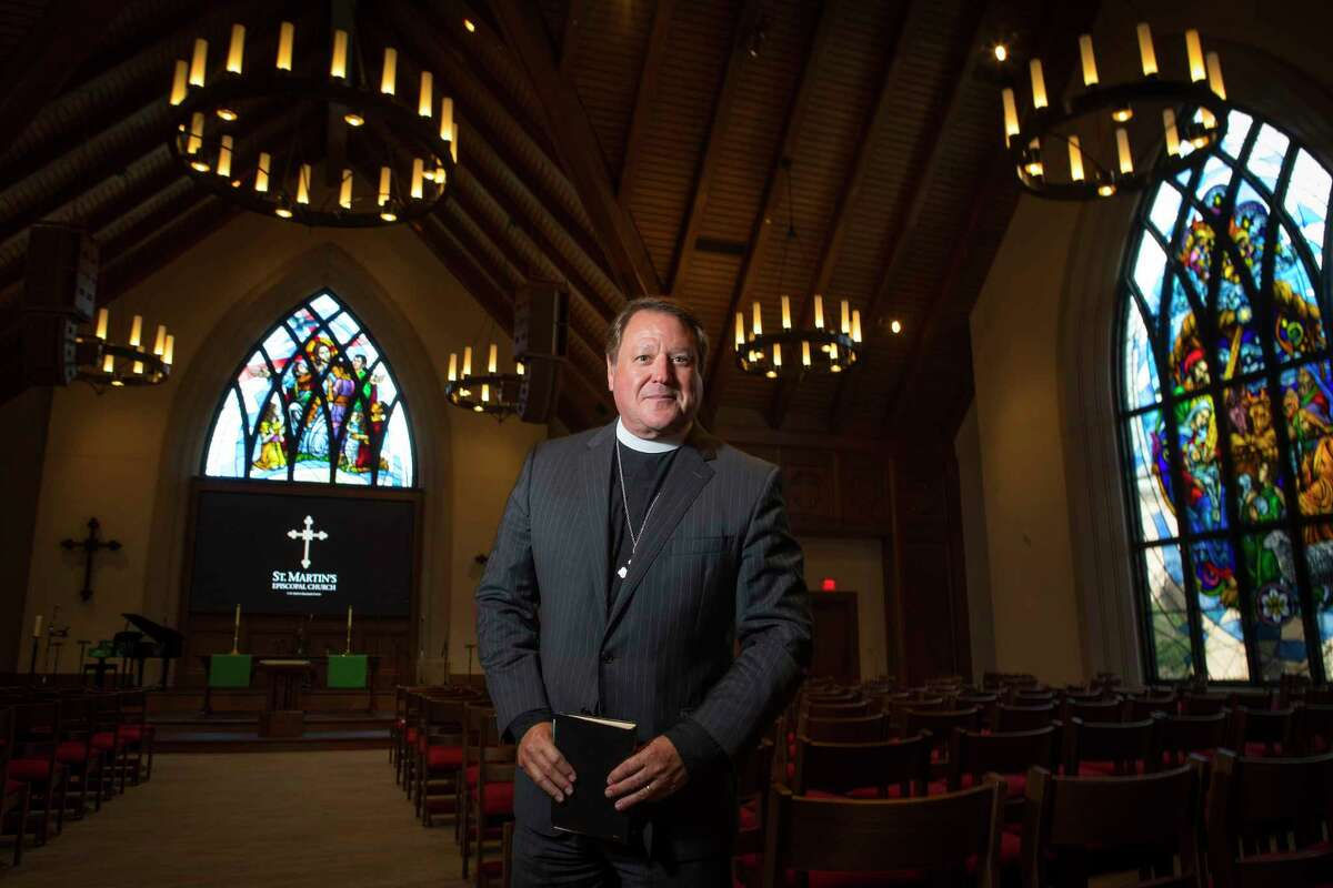 The Rev. Dr. Russell Levenson, rector at St. Martin's Episcopal Church, this weekend will dedicate several new buildings and the remodeling of several others in ceremonies at the church.