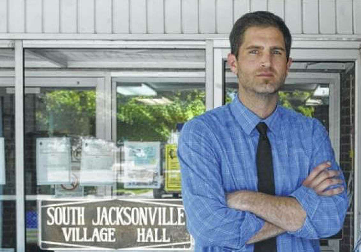 South Jacksonville Mayor Tyson Manker resigned from the position Thursday. He had taken office in May.