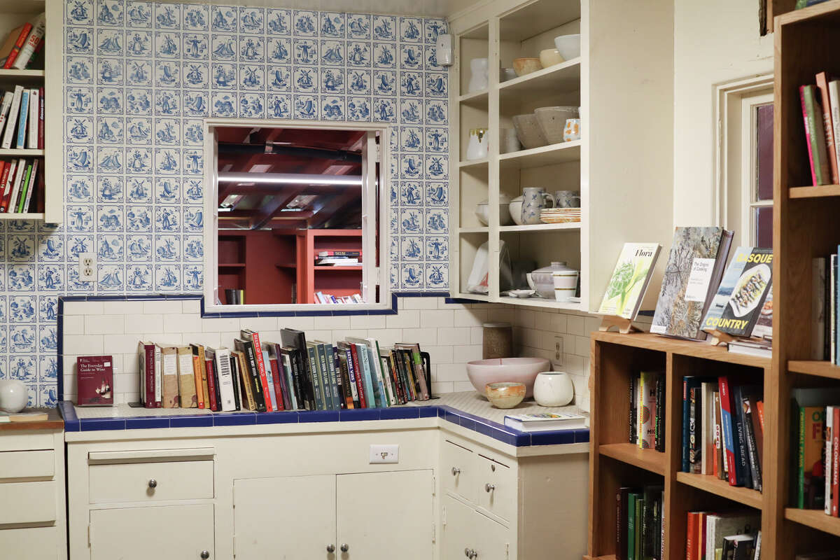 Bart's Books fills what used to be its founder's home, even the kitchen.