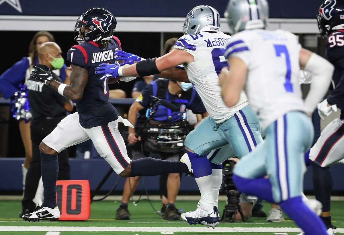 For Texans players like safety Lonnie Johnson Jr. who are vying for starting jobs, Saturday's preseason finale against the Buccaneers at NRG Stadium provides a chance to make a closing statement.