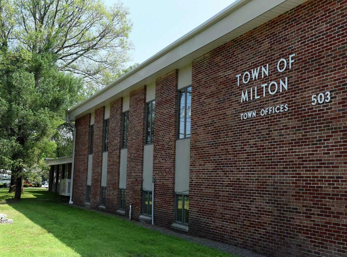 Milton Town Hall on Friday, Aug. 27, 2021, in Milton, N.Y.