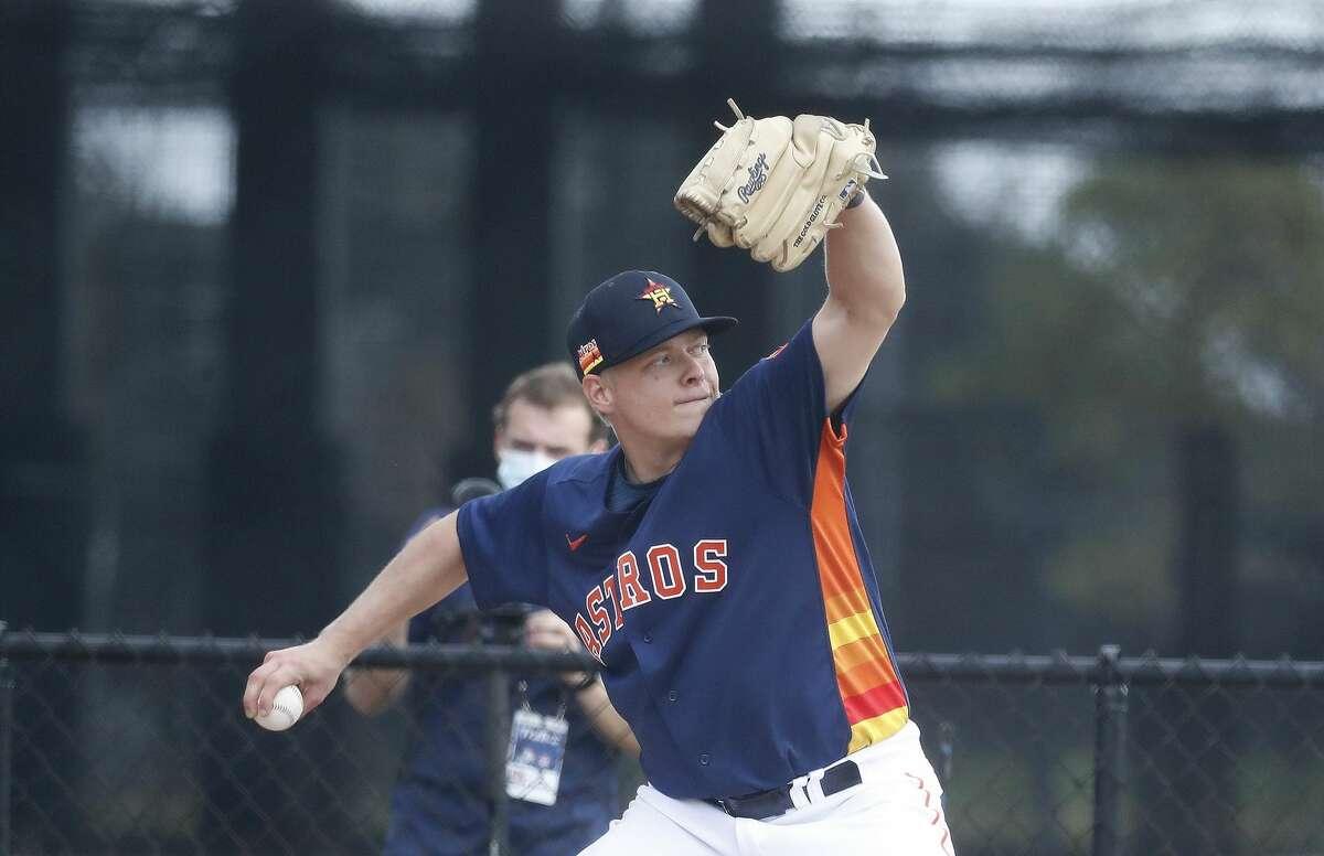 Astros pitching prospect Austin Hansen underwent Tommy John surgery Wednesday.