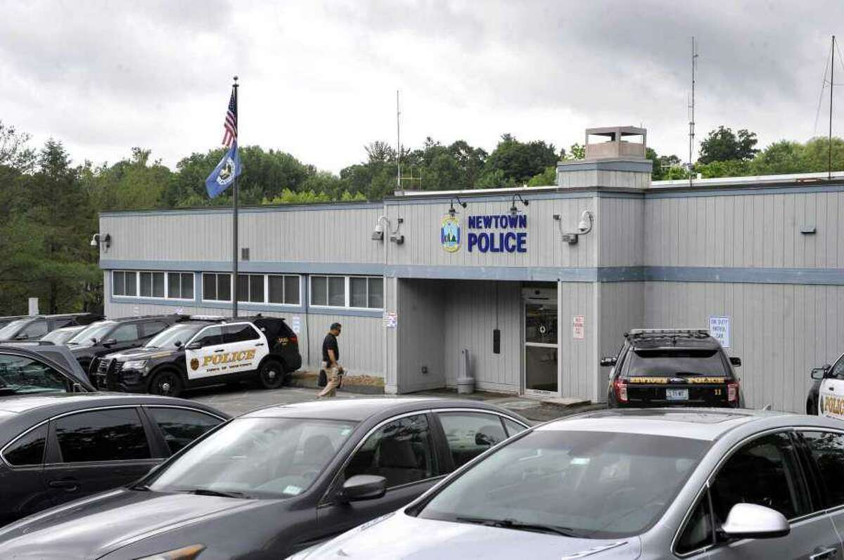 The former Newtown Police Department headquarters at 3 Main St. in Newtown, which town leaders are looking to sell.