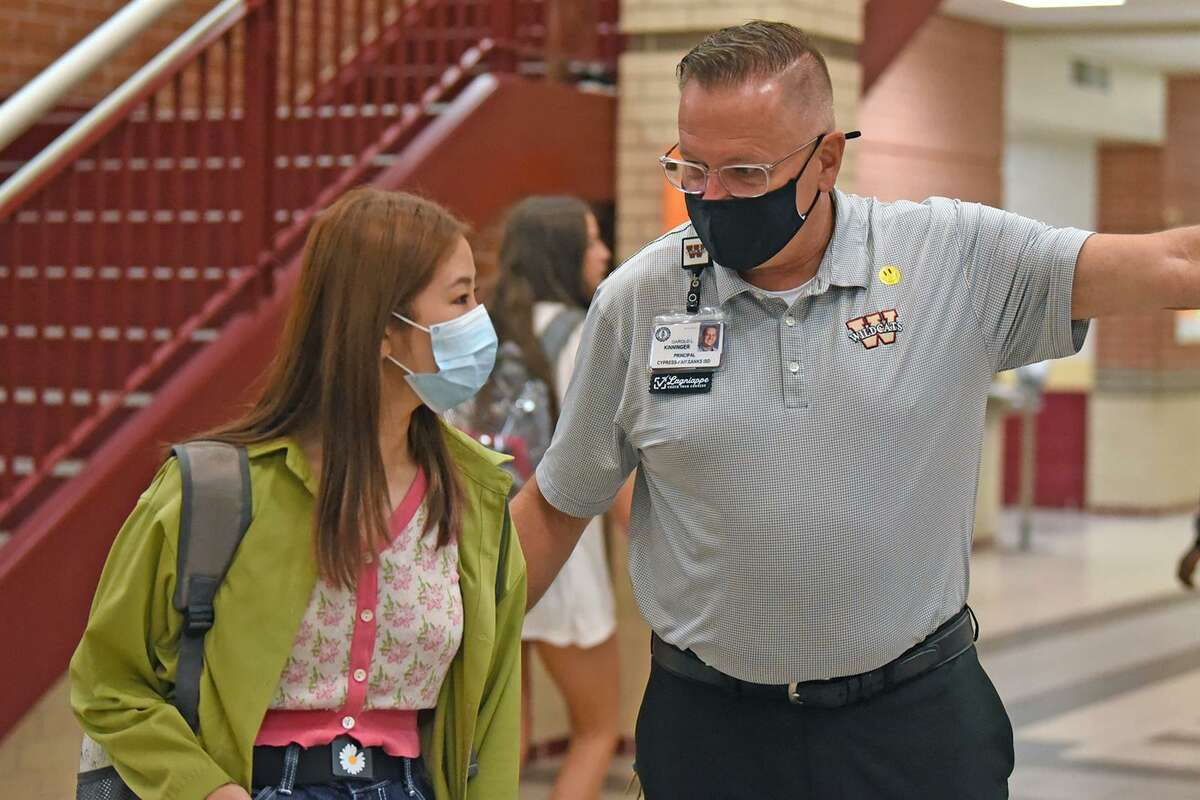 Cy-Fair ISD students returned to campuses for the 2021-2022 school year on Aug. 23.
