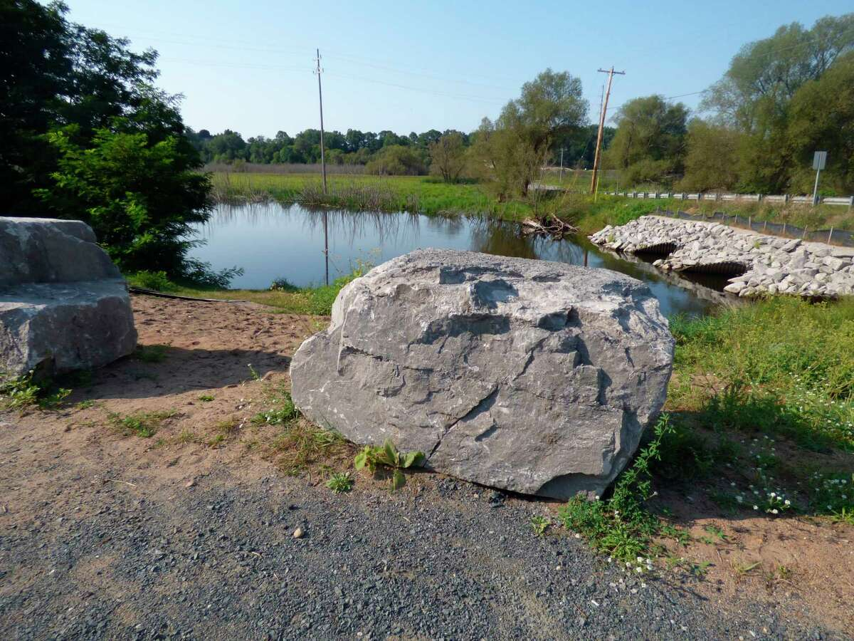 A number of improvements are planned for a small parcel of land used as a river egress in Stronach Township. (Scott Fraley/News Advocate)