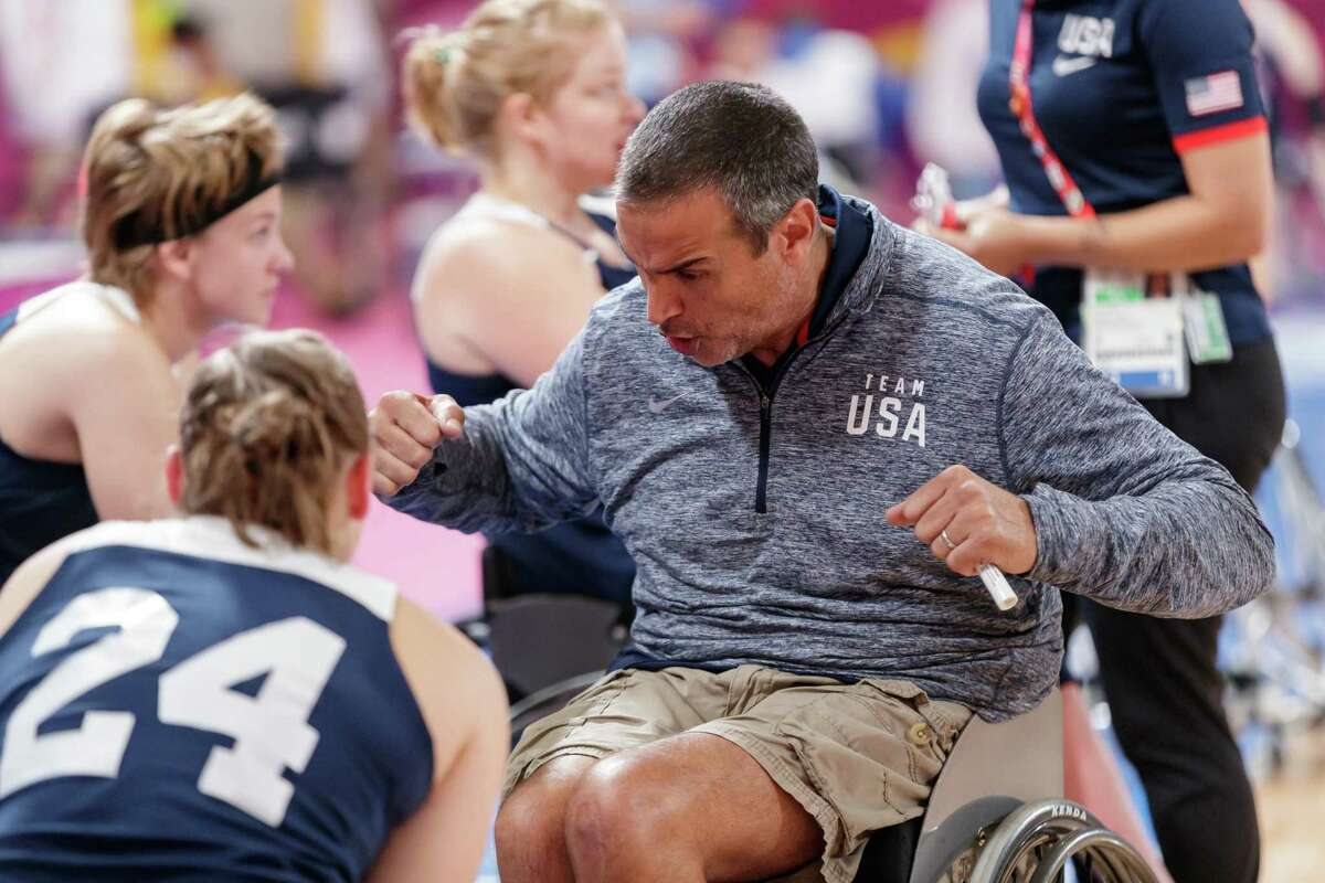 Trooper Johnson, a San Lorenzo resident, was a member of the U.S. men's national wheelchair basketball team for 15 years.