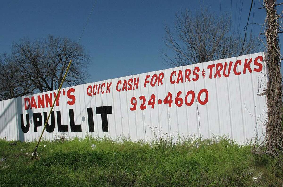 FILE PHOTO - In late 2014, the city's Board of Adjustments granted Danny's U Pull It, 4805 Roosevelt Ave., an exemption to use its property as an auto used-parts yard. The decision was a reversal by the Development Service Department. The city, therefore, sued the Board of Adjustments, which is the only way it could legally challenge the decision made by its own appellate court.