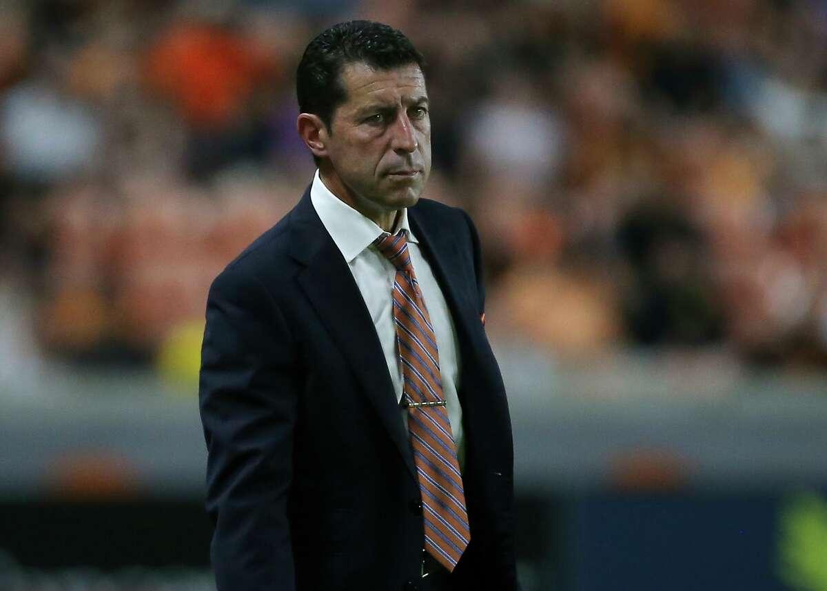 Dynamo coach Tab Ramos says team hasn't quit despite its struggles on the road.