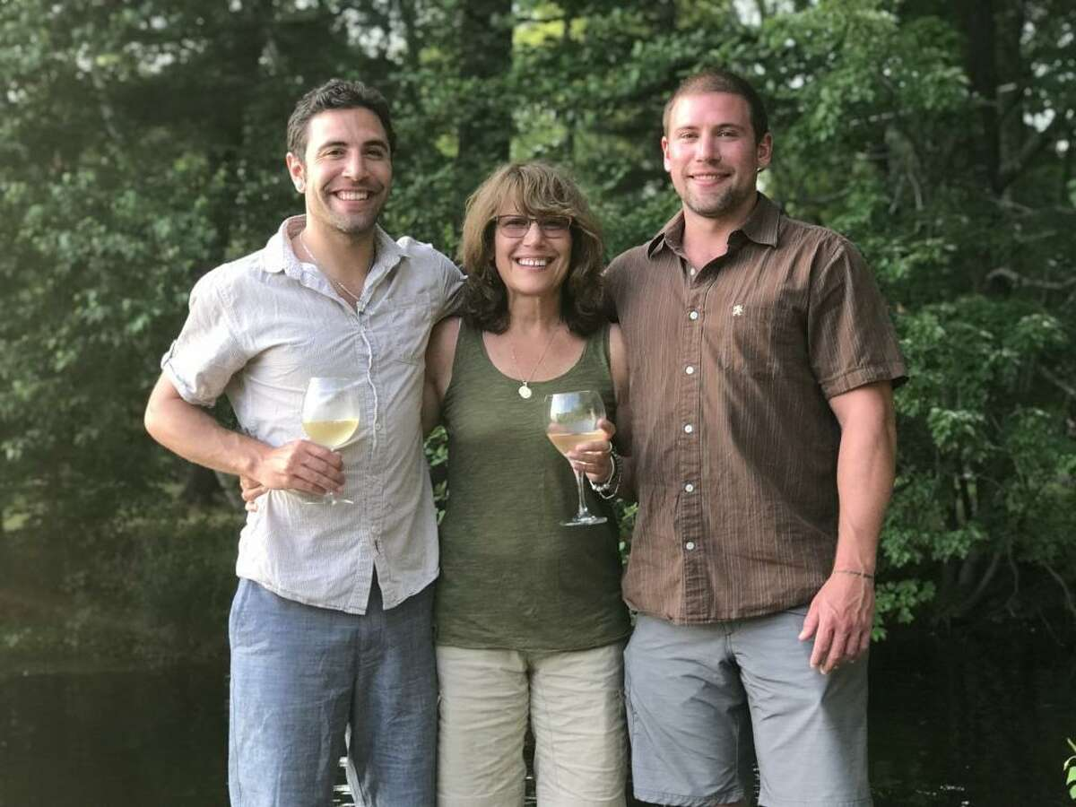 From left, Andrew, Julie and Philip Lyons