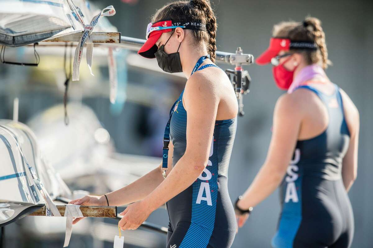 Sophia Greco traveled to Bulgaria in August to compete on the world stage, representing USRowing at the junior championships.