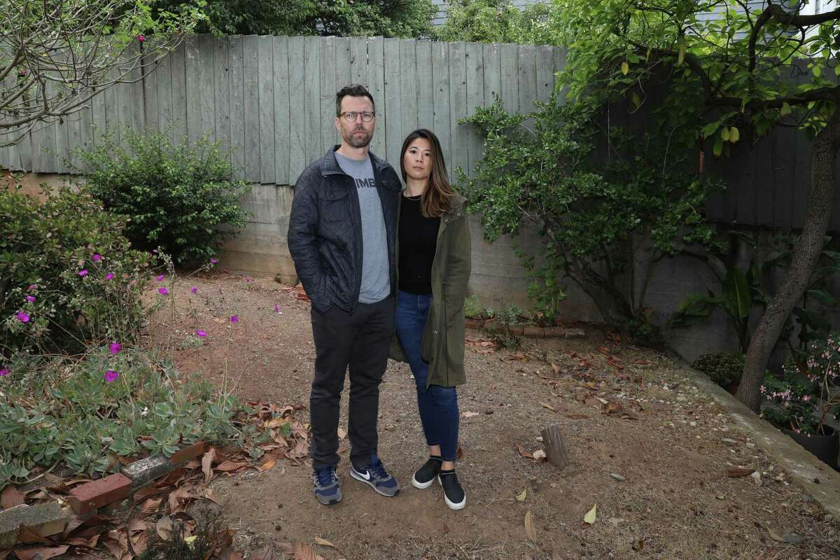 Scott and Rosalind Pluta own a large lot in San Francisco and are keenly aware of the city's housing crisis. Scott Pluta has been trying for two years to get city permission to build four small units on the lot and has made almost no headway. He cut back on the project and will go before the Planning Commission again in September.
