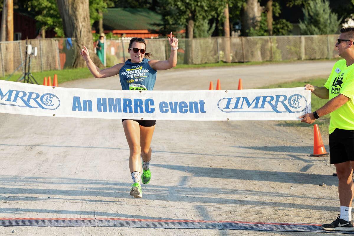 Top female runner in 2021 Workforce Team Challenge, Catherine Meyer