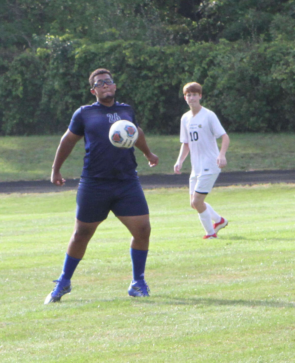 The Crossroads Charter Academy soccer team fell 8-0 to Lakeview on Friday night.