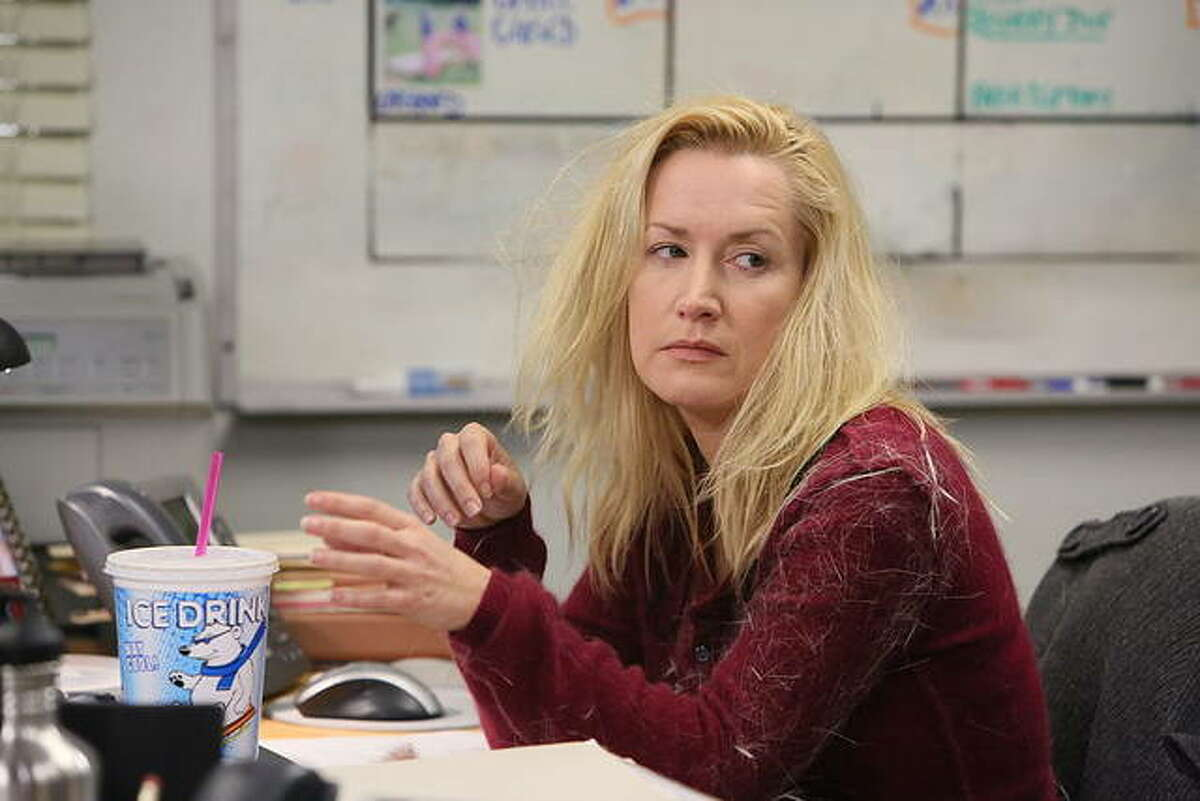 """Angela Kinsey stars as Angela Martin in the cult classic television show """"The Office."""""""