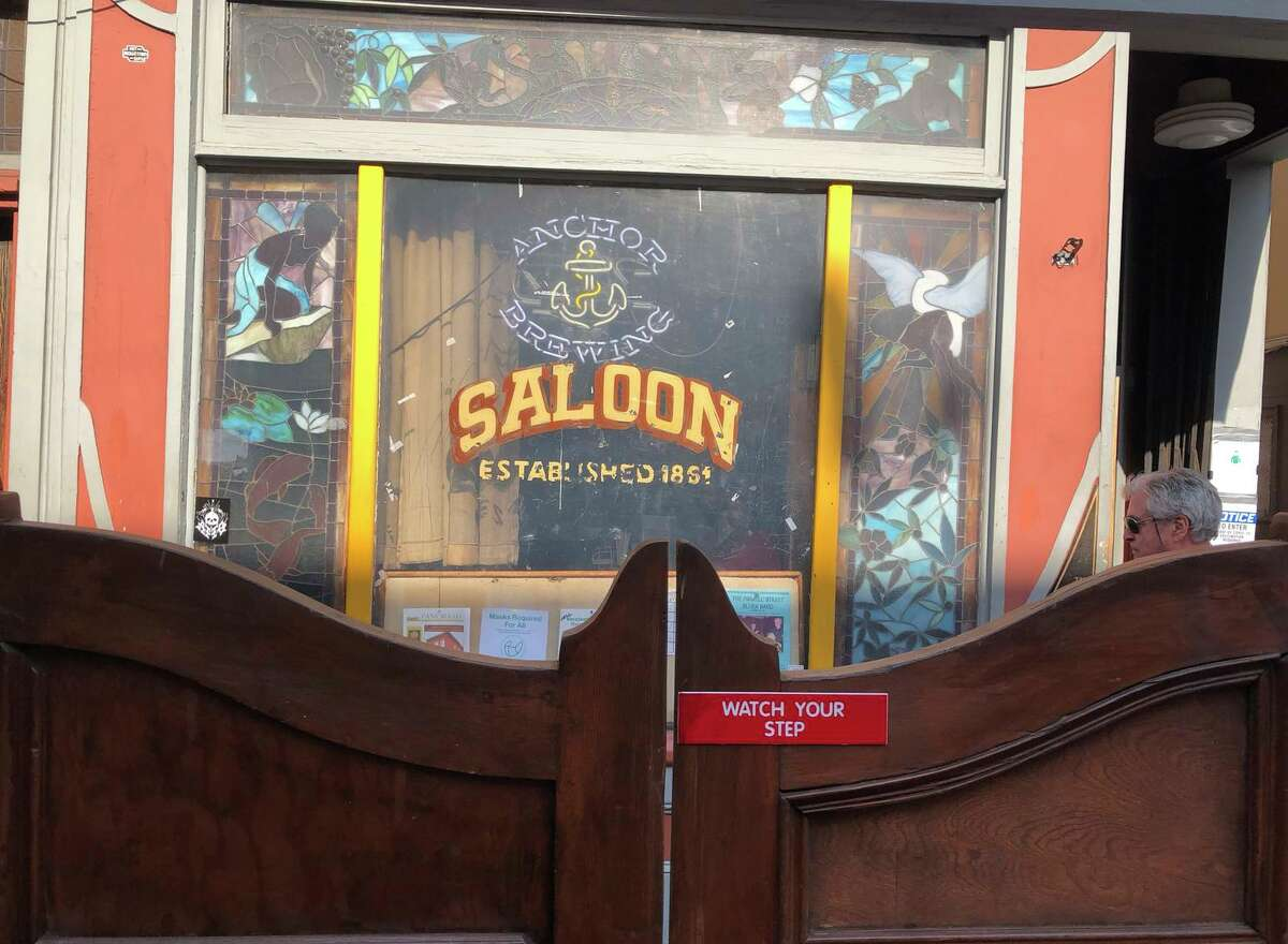 Historian Jim Jarvis documented the city's bars and taverns, like the Saloon on upper Grant Avenue.
