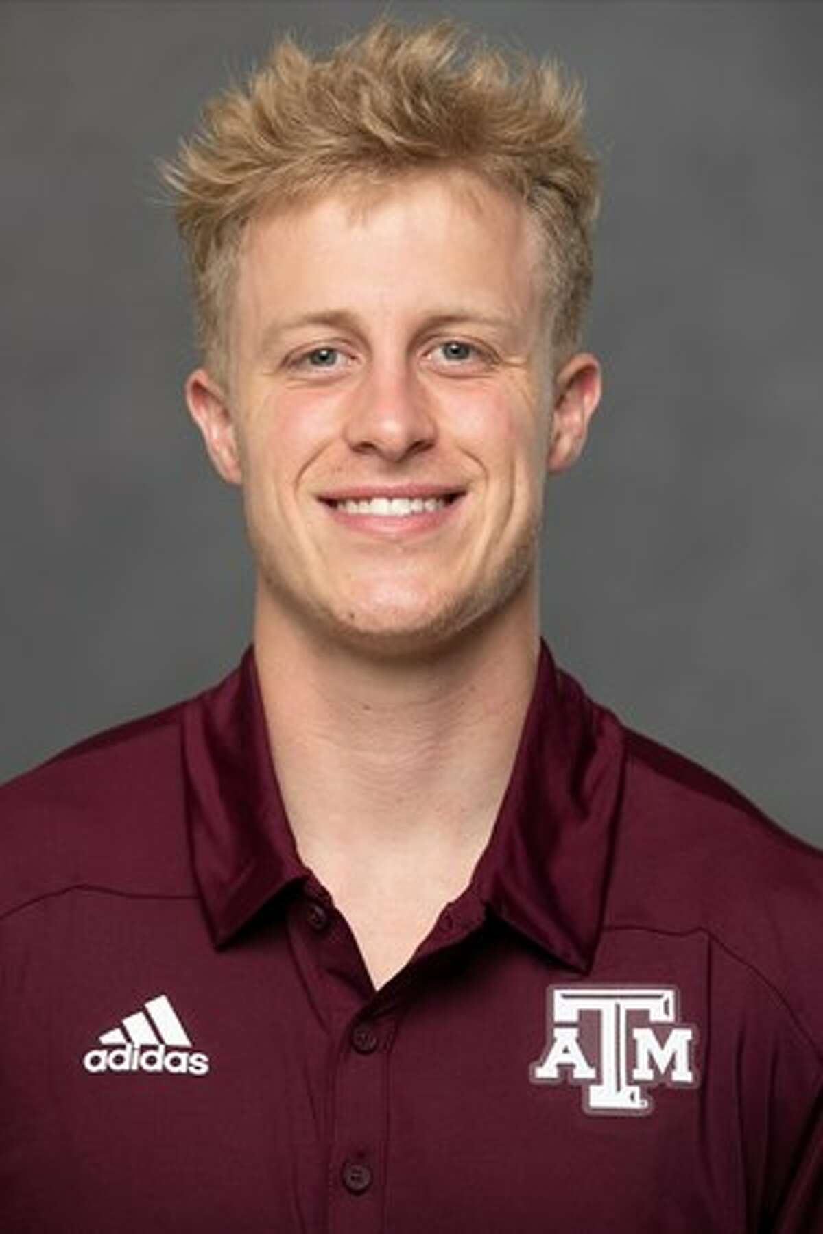 """Texas A&M coach Jimbo Fisher has named snapper Connor Choate as the program's celebrated """"12th Man"""" for the 2021 season."""