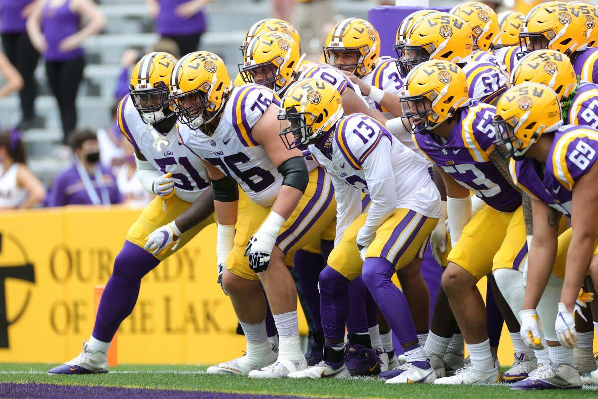 LSU will relocate its football operations to Houston next week because of Hurricane Ida.