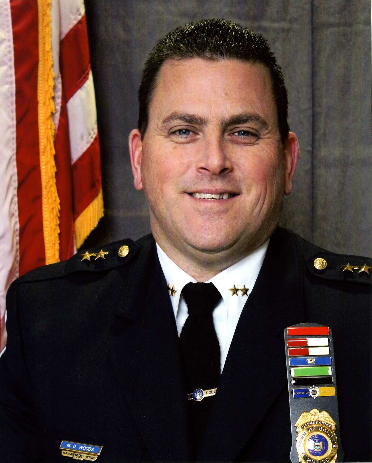 Colonie Deputy police Chief Michael Woods has been promoted to chief.