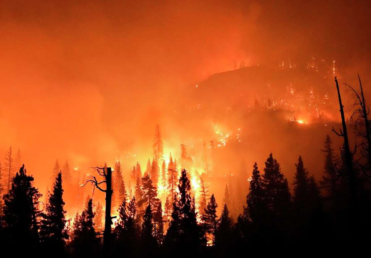Wildfires in California are burning at higher elevations than seen before.